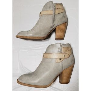 XOXO Ankle Gray Booties